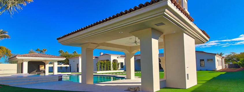 million dollar homes stucco paradise valley